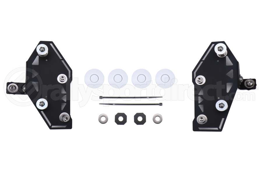 Move Over Racing Bumper Kit No Logo White  - Subaru WRX / STI 2015-2021