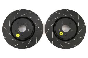 EBC Brakes USR Series Sport Slotted Front Brake Rotors - Subaru Models (inc. 2005-2014 Legacy / 2014+ Forester XT)