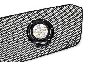 GrillCraft XE-LED 2 Lamp Upper Grille Kit Black (Part Number: )