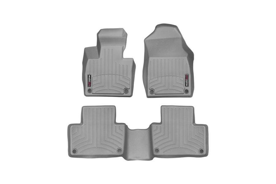 Weathertech Front and Rear Floorliners Grey - Subaru Outback 2020+