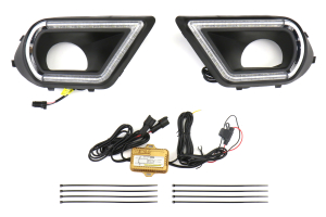 GCS V2 LED Fog Light DRL Bezels (Part Number: GCS-FORDRL-V2)