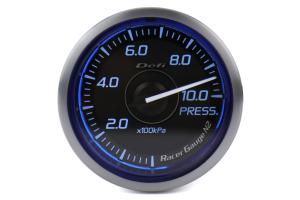 Defi DF Blue Racer N2 Pressure Gauge Metric 52mm - Universal