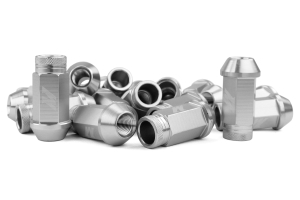 Mishimoto Aluminum Locking Lug Nuts Silver 12x1.50 - Universal