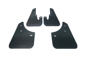 Rally Armor Basic Mud Flaps Black Logo ( Part Number:RAL MF9-BAS-BLK)
