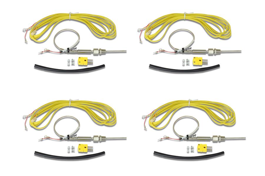 AEM Electronics K-Type Thermocouple Kit 4-Pack - Universal