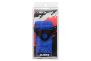Cusco Tow Strap Blue ( Part Number:CUS 00B CTS BL)