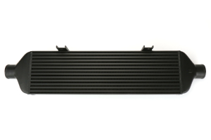 Mishimoto Front-Mount Intercooler Black w/Intake ( Part Number:MIS MMINT-STI-15AIBK)