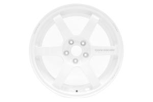 Volk TE37 SAGA 18x9.5 +38 5x114.3 Dash White - Universal
