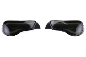 OLM VL Style Non-Sequential Smoked Lens Tail Lights Black / Gold Edition - Scion FR-S 2013-2016 / Subaru BRZ 2013+ / Toyota 86 2017+