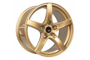 Option Lab Wheels R555 18x9.5 +38 5x114.3 Top Secret Gold - Universal