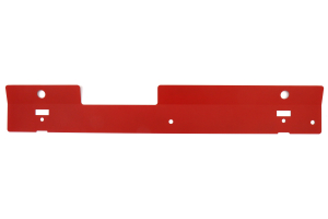 Subtle Solutions Radiator Shroud Red - Subaru WRX 2002-2007 / STI 2004-2007