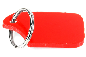 Rally Armor Red UR Mudflap Keychain (Part Number: )