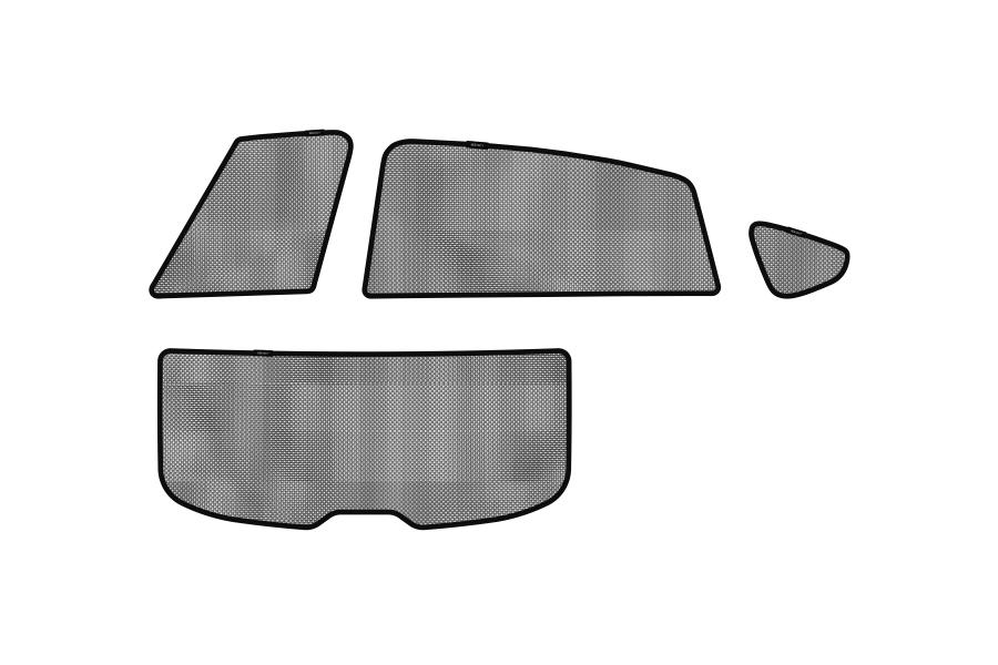 3D MAXpider Soltect Sunshades - Subaru Crosstrek 2013 - 2017