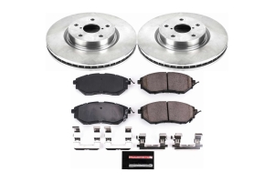 Power Stop Autospecialty Brake Kit Front - Subaru Models (inc. 2015-2021 WRX / 2015-2019 Outback)