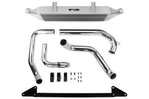 Mishimoto Front Mount Intercooler Silver w/ Intake ( Part Number:MIS MMINT-WRX-01AISL)