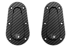 Aerocatch Hood Pins Locking Carbon Look (Part Number: )