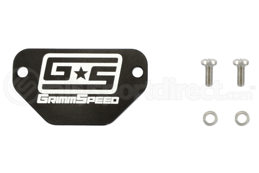 GrimmSpeed MAF Block Off Plate ( Part Number:GRM 053001)