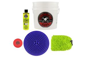 Chemical Guys Best Detailing Bucket Kit (5pc) Blue - Universal