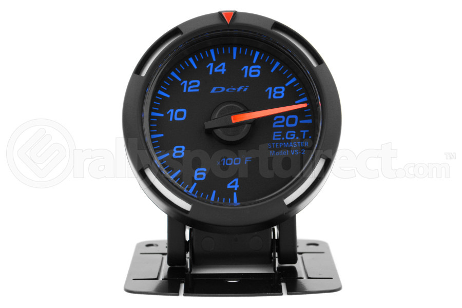 Defi Blue Racer EGT Exhaust Gas Temperature Gauge Imperial 52mm 400-2000F (Part Number:DF06801)