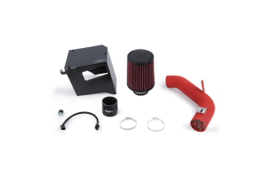 Mishimoto Race Intake Wrinkle Red - Subaru Forester XT 2014+