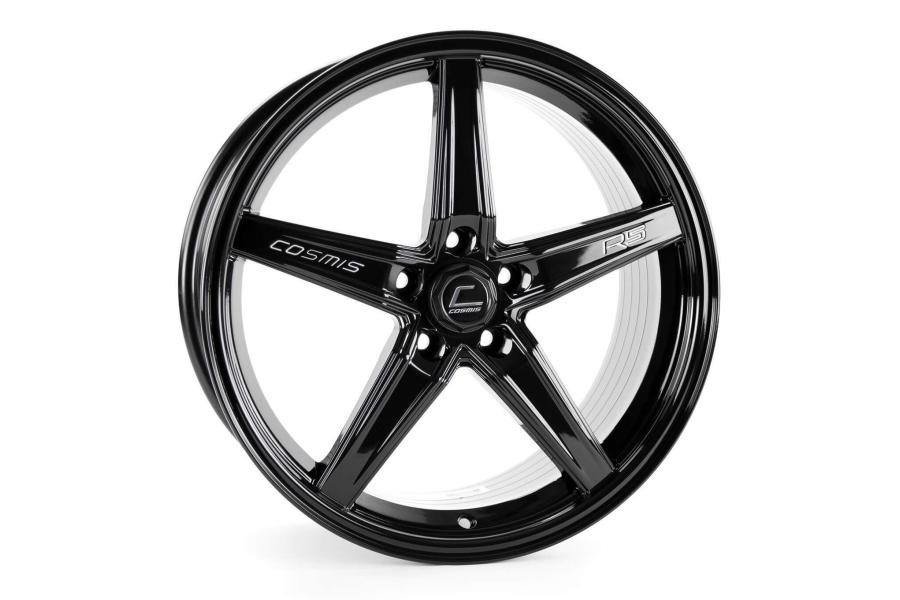 Cosmis Racing Wheels R5 18x8.5 +40 5x108 Black - Universal