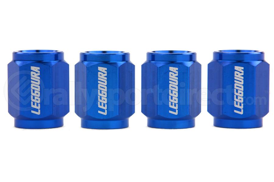 KICS Leggdura Racing Blue Valve Cap ( Part Number:KIC WCKIVU)