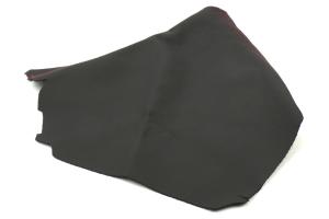 AutoStyled Black Leather E-Brake Boot w/ Red Stitching - Subaru WRX/STI 2015+