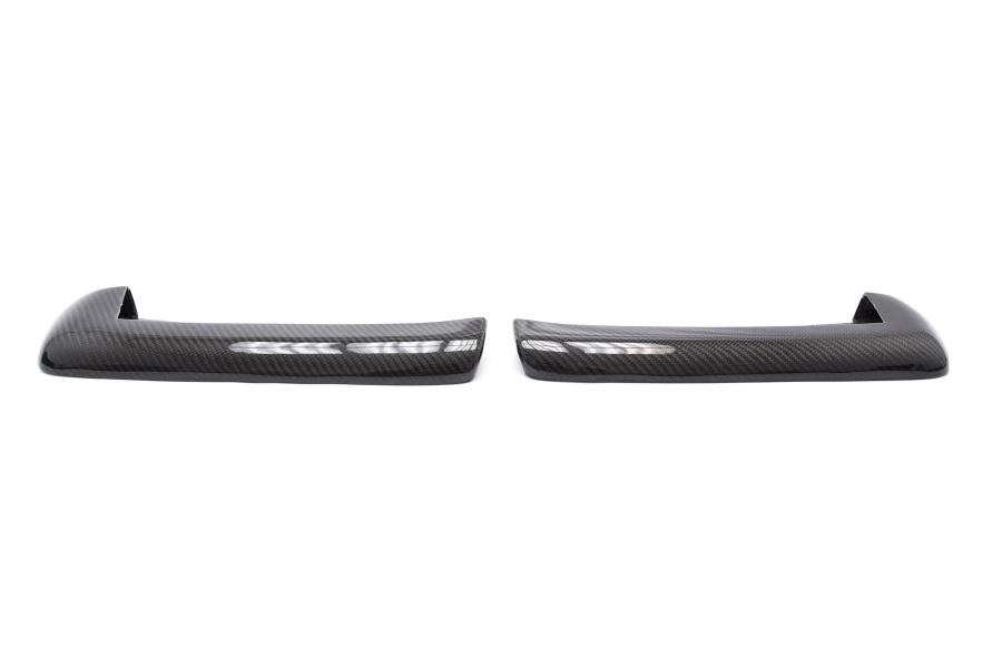 OLM CS Style Carbon Fiber Rear Spats - Subaru WRX / STI 2015+