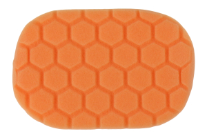 Chemical Guys Hex-Logic Hand Applicator Pad Orange (Part Number: )