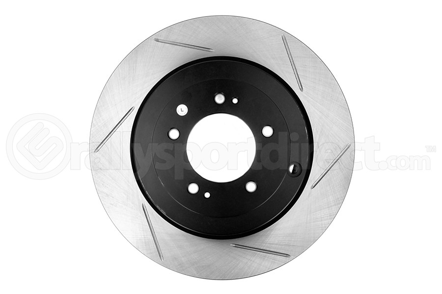 Stoptech Slotted Rear Left Rotor Single (Part Number:126.46075SL)