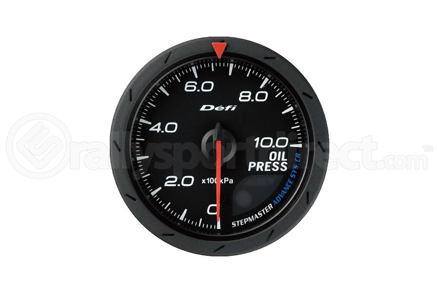 Defi Advance CR Oil Pressure Gauge 60mm (Part Number:DF08902)