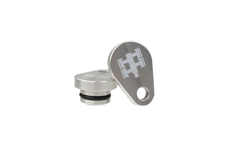 IAG AVCS Camshaft Sensor Delete Plugs Silver (Part Number:IAG-ENG-2060SL)