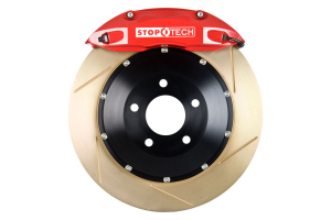 Stoptech ST-40 Big Brake Kit Front 328mm Red Zinc Slotted Rotors (Part Number: )