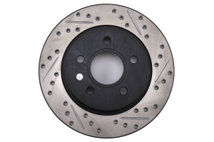 Stoptech Slotted and Drilled Rear Rotor - Ford Focus ST 2012 - 2017