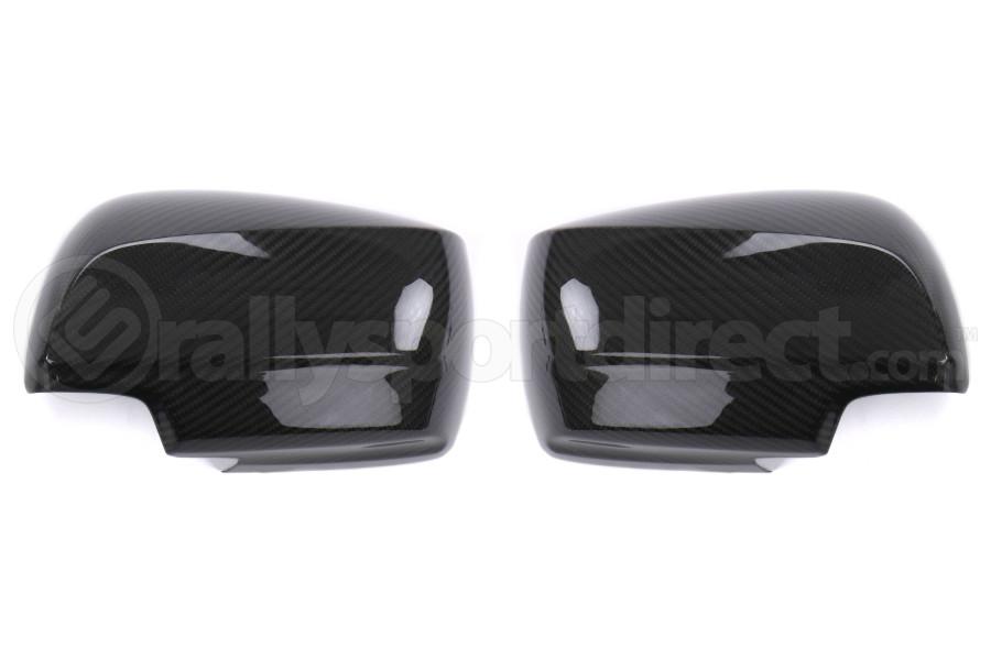 OLM Carbon Fiber Full Mirror Covers w/ No Turn Signal Hole - Subaru WRX / STI 2015 - 2020