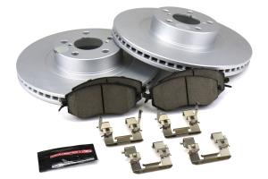 Power Stop Track Day Brake Kit Front - Subaru Models (inc. 2011-2014 WRX / 2013+ BRZ)