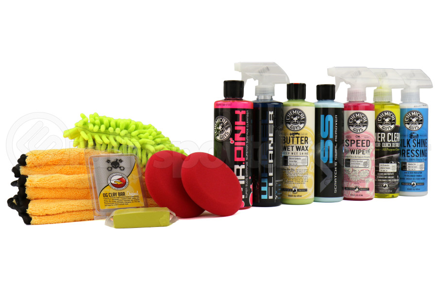 Chemical Guys Complete Car Care Kit (14pc) - Universal