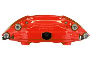 Stoptech ST-40 Big Brake Kit Front 345mm Red Slotted Rotors - Mitsubishi Evo X 2008-2015