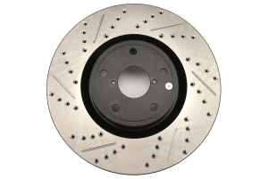 Stoptech Drilled and Slotted Rotor Single Front Right (Part Number: )