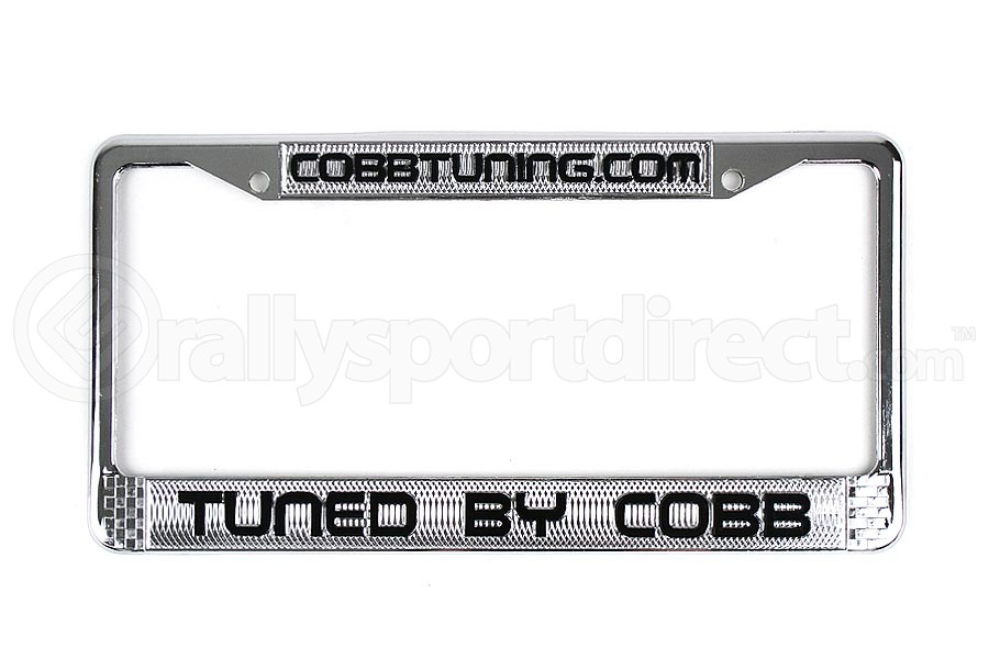 COBB Tuning Metal Plate Frame Chrome  ( Part Number:COB CO-PFRAMEMETAL)