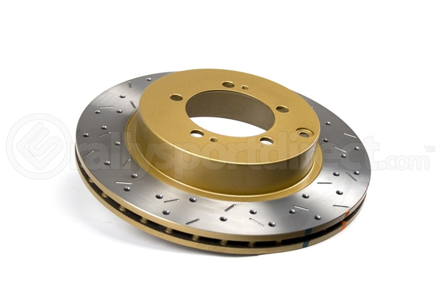DBA 4000 Series Drilled/Slotted Rotor Single Rear (Part Number:4419XS)