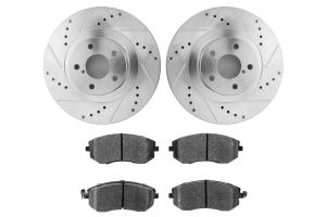 Hawk Performance Rotors w/ HPS 5.0 Pads Kit Front (Part Number: )