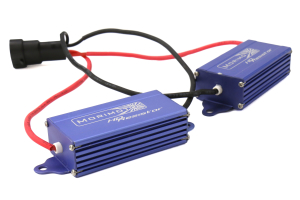 Morimoto Mopar-Spec Low Beam Relay Harness w/40w Resistors - Fits most Chrysler/Dodge/Jeep/Ram 2015+ applications
