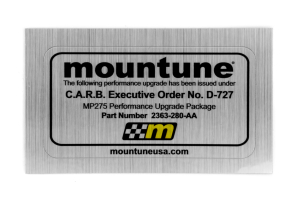 mountune MP275 Performance Upgrade Silver (Part Number: )