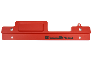 GrimmSpeed Radiator Shroud w/ Tool Tray Red ( Part Number:GRM 096006)