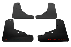 Rally Armor UR Mudflaps Urethane - Fiat 500 2012-2013
