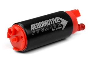 Aeromotive Stealth 340 340lph Fuel Pump Offset Inlet ( Part Number: 11141)