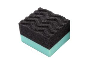 Chemical Guys Wonder Wave Durafoam Contoured Large Tire Dressing Applicator Pad - Universal