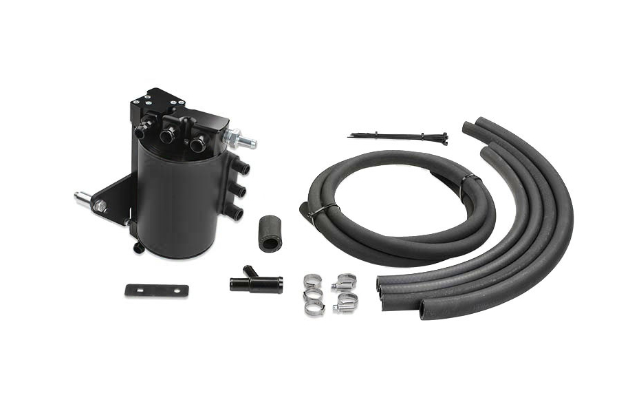 IAG Street Series Air Oil Separator Black (Part Number:IAG-ENG-7150BK)