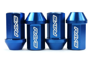 Volk Racing Dura-Nut 12MX1.25 Lug Nut Set Blue (Part Number: )